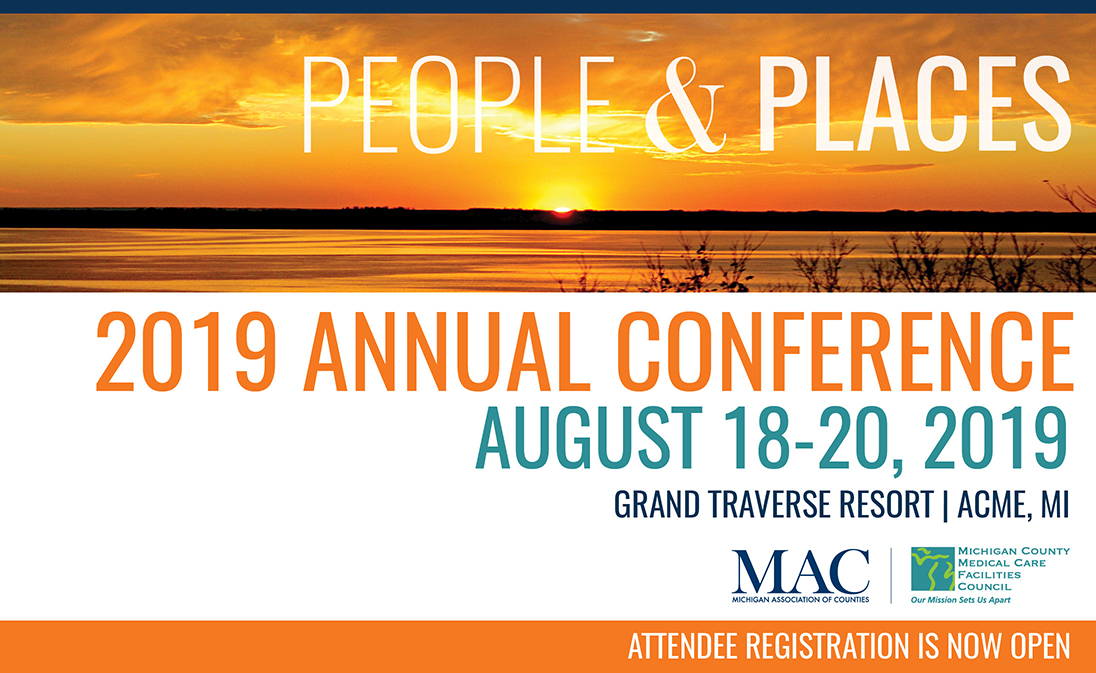 County leaders, it's time to register for 2019 Annual Conference