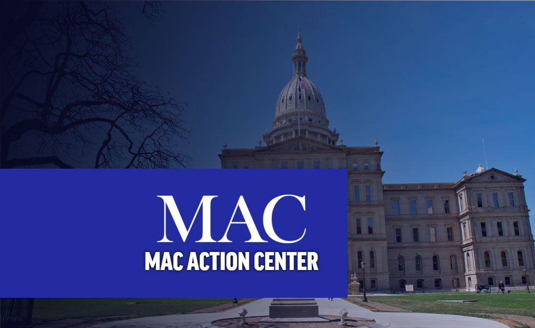 MAC Action Center. As a MAC member your voice matters, be heard today!